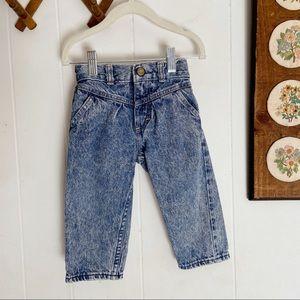 Vintage Oshkosh Acid Wash High Waisted Jeans